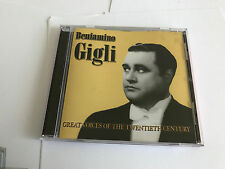 Beniamino Gigli : Great Voices of the 20th Century CD (2005) MINT