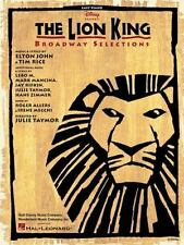 The Lion King: Broadway Selections (Paperback or Softback)