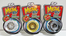 YoYo Set - 3 Metal Tech Spin Pro - Rotation Pro - Metal Body Roller Bearing Axle