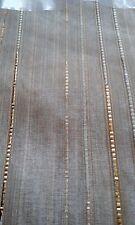 Gardine  Vorhang Höhe 175cm  breite  600cm  Store Gold Langstore