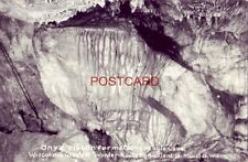 RPPC - ONYX RIBBON FORMATIONS - EAGLE CAVE - Highway 60, MUSCODA, WIS.
