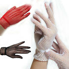 1 Pair Fishnet Mesh Gloves Women Gloves Summer UV Protection Lace Glove