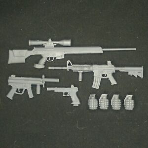 Deadshot - Weapons Kit - 1/6, 1/10, 1/12, 1/18 Scales