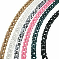Detachable Acrylic Chain Plastic Shoulder Strap Colorful DIY Fashion Bag Handles