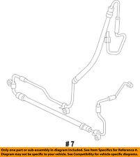 CHRYSLER OEM-Power Steering Pressure Hose 52124656AH