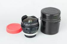 Minolta MC Fish-Eye Rokkor-OK 16mm f/2.8 f2.8 Lens for MD Mount, Fish Eye