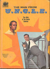 Man From U.N.C.L.E. Affair Of The Gentle Saboteur Brandon Keith UNCLE TV Book HC