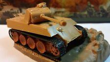 Vintage Matchbox 1:76 Pz Kw-V Ausf-G Panther Model 1/76 PK73 Built with Diorama