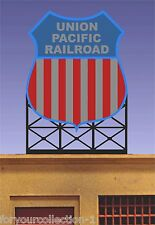 Miller's Union Pacific Railroad Animated Neon Sign O/Ho Scale 88-1801