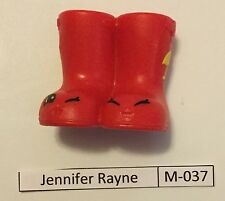 #10 Shopkins McDonalds Happy Meal Jennifer Rayne M-037 With M-036 Kitty Flats