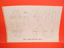 1969 TOYOTA COROLLA KE10L KE15L KE16L CORONA RT43L RT52L FRAME DIMENSION CHART