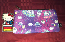 Loungefly x Hello Kitty Pouch Cosmetic Case Pencil Case Outer Space New