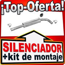 Silenciador Intermedio SEAT AROSA VW LUPO 1.4 TDI 1.7 SDI 1997-2005 Escape XYF