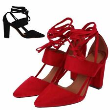 Special Occasion Faux Suede Court Shoes for Women