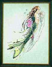 """SALE!  COMPLETE XSTITCH MATERIALS """"MERMAID OF THE PEARLS"""" MD26 by Mirabilia"""