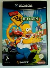 THE SIMPSONS HIT AND RUN for the NINTENDO GAMECUBE RARE & HARD TO FIND