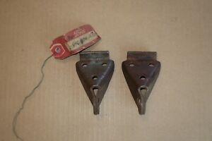 NOS 1938 1950 Ford Pickup Tailgate Chain Brackets Rat Hot Rod F1 F2 F3 1939 1940