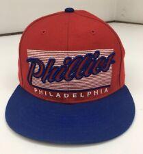 Twins Enterprise MLB Philadelphia Phillies Retro Red Adult Cap Snapback  Ball Hat cadfb19591e9