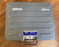 Pelouze 250lb Capacity Heavy Duty Briefcase Portable Utility Scale Model P250s