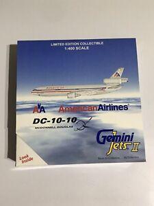 Gemini Jets American DC-10 (NEW) 1:400