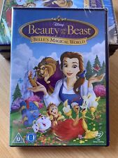 Beauty And The Beast: Belle's Magical World - Disney Dvd (2014) U.k R2 ⭐️NEW⭐️