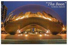 The Bean Millennium Park Chicago Illinois Cloud Gate Sculpture - Modern Postcard