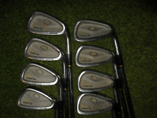GREAT KING COBRA GOLF CLUBS OVERSIZE IRONS 3-PW WITH STEEL REGULAR FLEX SHAFTS