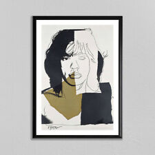 Andy Warhol Mick Jagger #7 Giclee Print Large Wall Art The Rolling Stones Poster