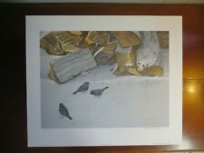 "1987 Signed Robert Bateman Limited Edition ""Cherrywood and Juncos"" Print 13/950"
