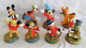 Lot of 8 – 2002 Disney 100 Years of Magic McDonald's Happy Meal Toys
