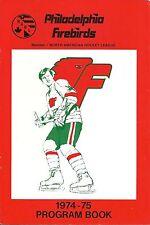 Philadelphia Firebirds NAHL Hockey Program vs Jets SLAP SHOT MOVIE w/Hanson Bros