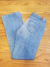 Abercrombie & Fitch Size 0S Emma Stretch Low Rise Boot Cut Jeans 31 Inseam EUC