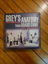 2007 Grey's Anatomy Trivia Board Game New Sealed Cardinal
