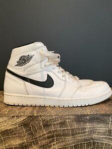 Nike Air Jordan 1 White Black Swoosh Yin Yang 2016 14