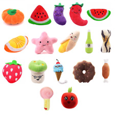 New listing Cute Soft Plush Pet Dog Puppy Chew Toy Squeaker Squeaky Toys Sound Teeth Toys