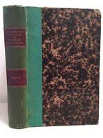 Dizionario Enciclopedico Delle Sciences Vista Volume Ventinovesimo 1884