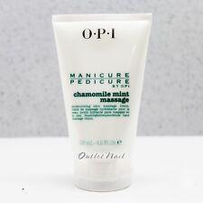 OPI Manicure Pedicure 4.2oz Chamomile Mint MASSAGE Skin Care Lotion 125mL 4.2 oz