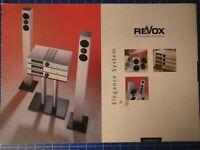 REVOX Elegance System Magic Cubes Faltblatt + Einleger B25743