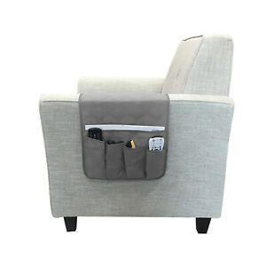 Remote Holder Caddy for Couch Sofa Recliner Chair Organizer 5 Armrest TV Pocket