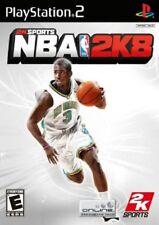 NBA 2008 for Playstation 2 (2008, PAL)