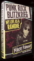 "PUNK ROCK BLITZKRIEG ""MY LIFE AS A RAMONE"" SIGNED & INSCRIBED by MARKY RAMONE"