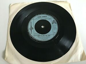 """Donna Summer - Love to Love You Baby - 7"""" Vinyl Single"""