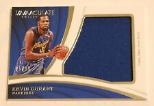 Kevin Durant 2017-18 Panini Immaculate Jumbo Christmas Day 2016 Jersey Patch /99