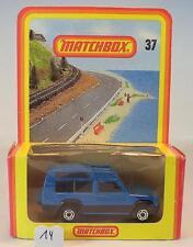 Matchbox Superfast nº 37 matra Simca Rancho azul nº 2 alemana Hösbach OVP #014