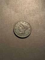 1842 Braided Large Cent Large Date