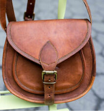 Handmade Purse Women Vintage Brown Leather Messenger Cross Body Bag Handmade Bag
