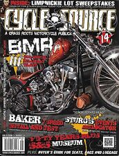 Cycle Source Motorcycle Magazine Bmr Baker Install And Test Seats Bags Luggage