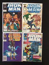 4 Issue Lot - Iron Man 227, 229, 232, 236 Avengers