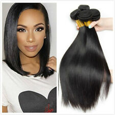3bundles150g Brazilian Straight Hair Virgin Hair 7A Human Hair Extensions Weave