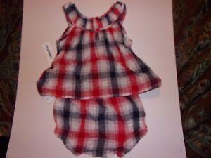 Old Navy: Baby Girls 18-24 Months / 2 Piece Set / Red, White & Blue / New
